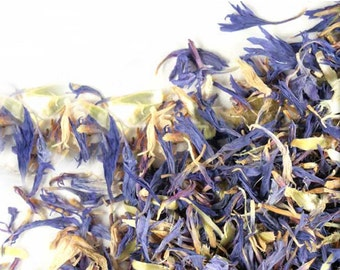 Cornflower Petals   High Culinary Grade   Tea Ingredient   Soap Additive   Cosmetic Additive