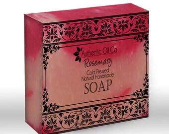 Rosemary Traditional cold press handmade soap 80g