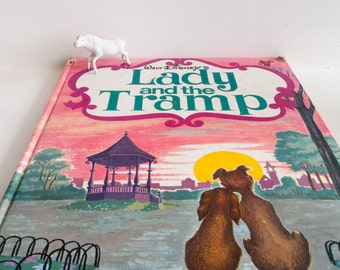 Vintage Disney's Lady and Tramp story book