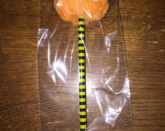 Orange Monster Pen