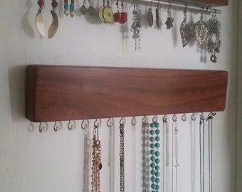 Jewelery organiser / hanger set