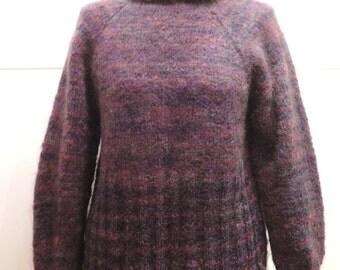 Violet Raglan Mohair Sweater