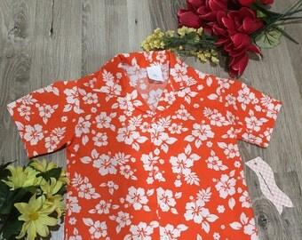Boy's Hawaiian Luau Shirt