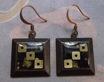 Square Sequin Earrings