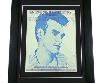 Morrissey Canvas Art Print Poetry Evening Framed Or Unframed