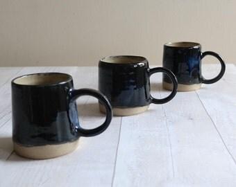 Stoneware Ceramic Mug in Stormy Seas Glaze - Ready to Ship