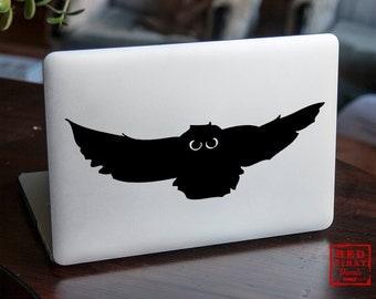 Owl macbook sticker | Macbook Pro decal | Creative Macbook  Air Sticker