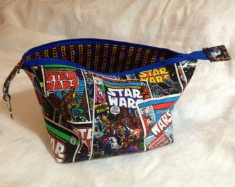 Comic Star Wars zipper bag/cosmetic case!