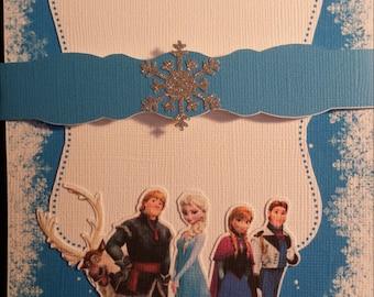 Disney Frozen Theme Invitations