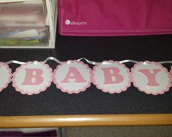 Ballerina Baby Shower Banner