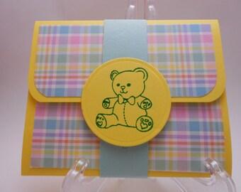 Baby Gift Card Holder