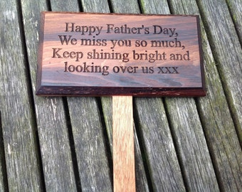 Wooden Personalised Sign for Outdoors