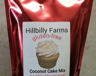 Gluten Free Coconut Cake Mix