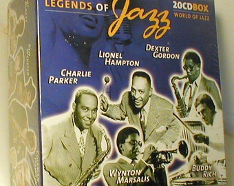 Legends of Jazz – 20 CD Collection