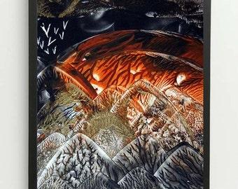 Digital Download Encaustic Artwork (5)