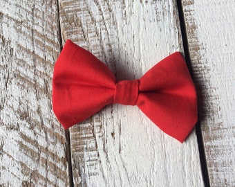 Red Clip or Snap Bowtie - Baby Toddler Boy Bow Tie- Halloween Old Man Baby Bowtie - The Movie Up- Extra Bowtie- To Pair with Vest or Onesie