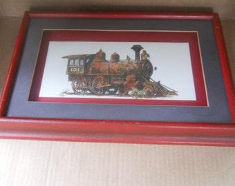 Steam Locomotive Print by J. B. Rivard