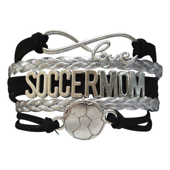 soccer bracelet soccer jewelry by myinfinitycollection