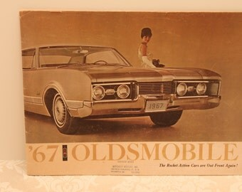 1967 Oldsmobile Auto Models for the Year Catalog