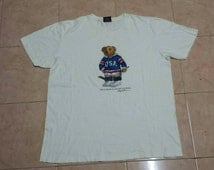 Polo Bear by polo ralph lauren white t shirt L size