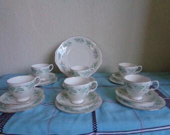 Vintage Tea Party 1950's 'Royal Kent'  Bone China 19 piece tea set