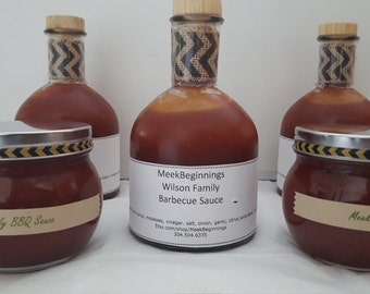 MB Wilson Family BBQ Sauce