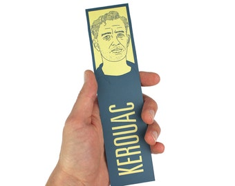 Jack Kerouac Bookmark! On The Road, The Dharma Bums Big Sur, beat generation