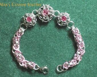 Swarovski-Captured 3 Crystal Bracelet