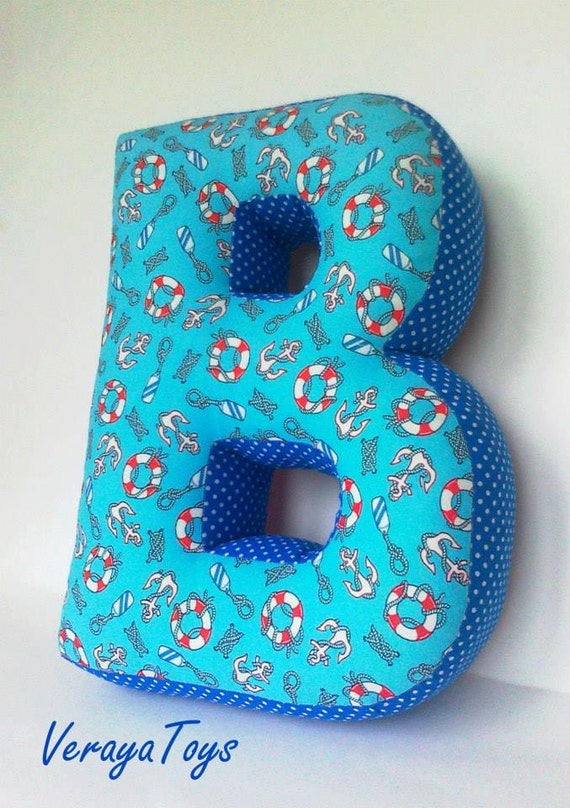 items similar to custom letter b pillow baby room With pillow letters baby s room