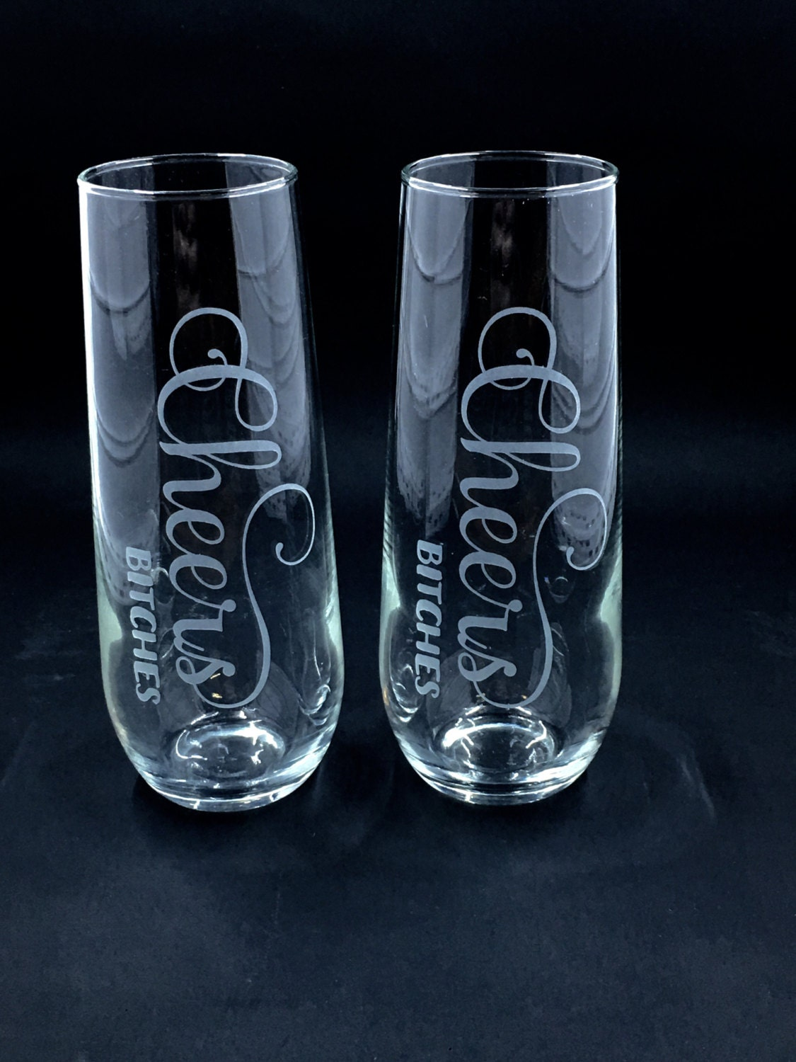 Stemless Champagne Flutes Personalized Stemless Champagne