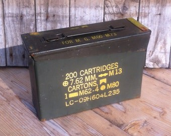 7.62mm Ammo Can w/ 50 Nerf Darts