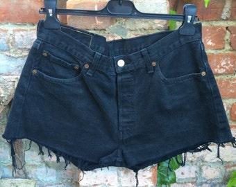 Vintage Levis Shorts Black W34