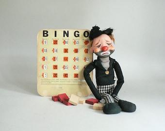 Old Bingo Card For Decorative Display