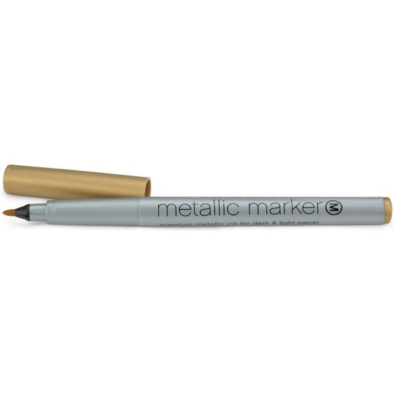 American crafts metallic marker gold for American crafts metallic marker