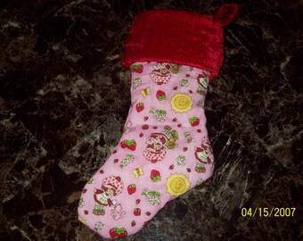 Strawberry Shortcake Christmas Stocking