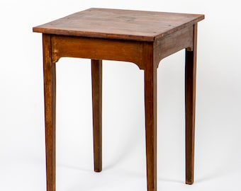 Antique Primitive End Table