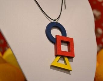 Bauhaus Primary Necklace