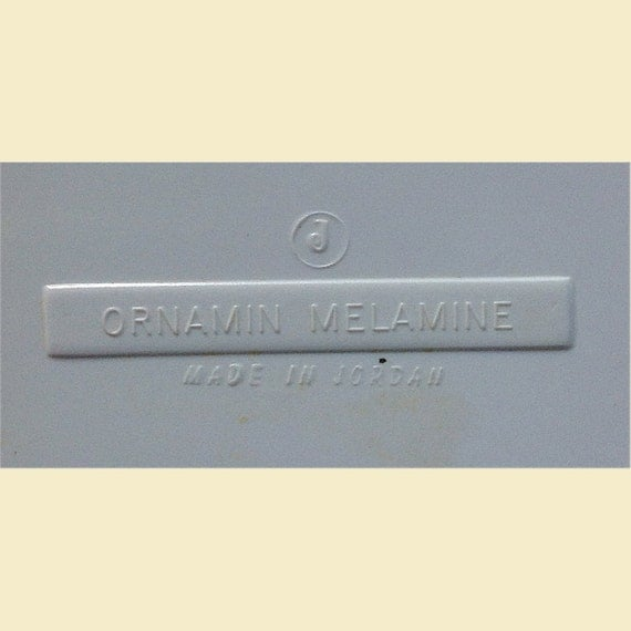 Ornamin Melamine Tray produced in Jordan