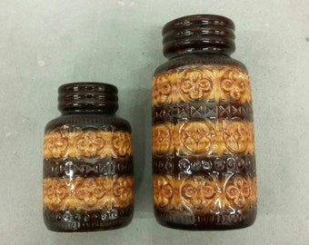 Two West Germany Vases '70