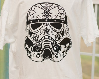 Star Wars Storm Trooper Sugar Skull Shirt