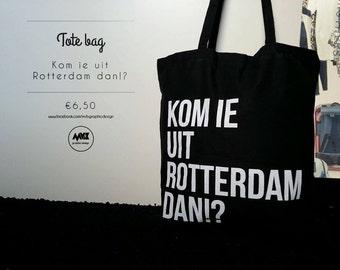 Black Tote Bag Rotterdam