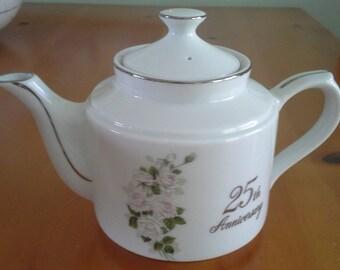 25th Anniversary Tea Pot
