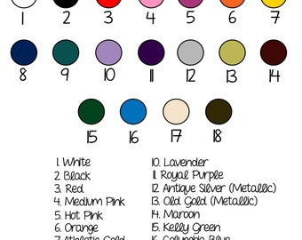 Vinyl and Glitter Vinyl Reference Guide, Glitter Vinyl Color Guide, Vinyl Chart, High-Quality Vinyl