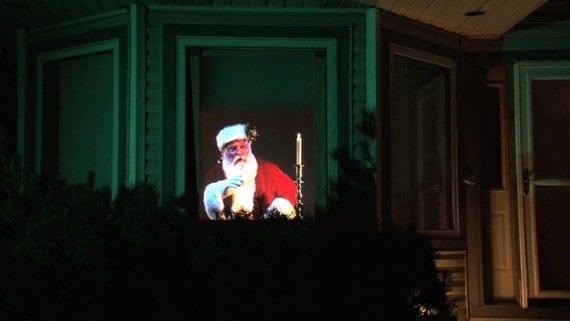 Original Virtual Santa Dvd For Window Projection