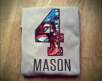 Avengers birthday Tshirt