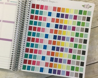 Spiral Bound Planner/Notebook Stickers