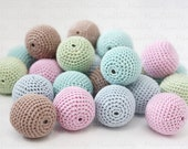 Crochet beads - 25pcs. (Custom order)