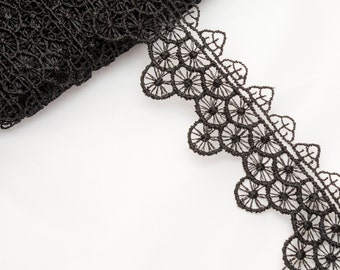 5 Metres x Guipure Lace. 30mm approx [Lace Ref G542]