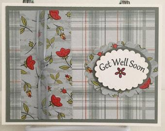 Handmade Card, Get Well Card