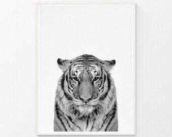 Animal Print, Tiger Print, Animal Decor, Nursery Animal Prints, Black White Animal, Animal Print Nursery, Animal Photography, Printable Art